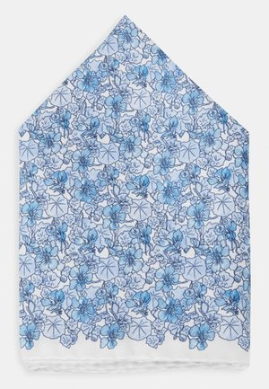 FLORAL POCKET SQUARE - Kapesník do obleku - blue