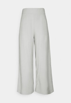 SANNA CROPPED - Pantalones - light dusty aqua