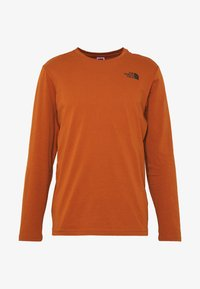 The North Face - MENS BOX TEE - Top s dlouhým rukávem - caramel cafe - 4