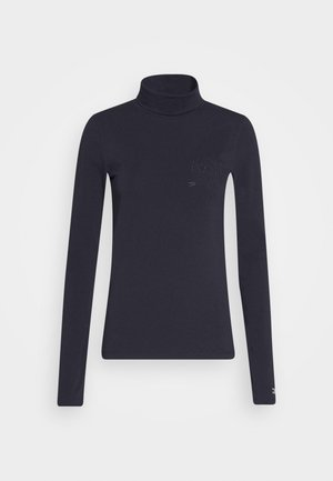 ICON SLIM ROLL NECK - Long sleeved top - desert sky