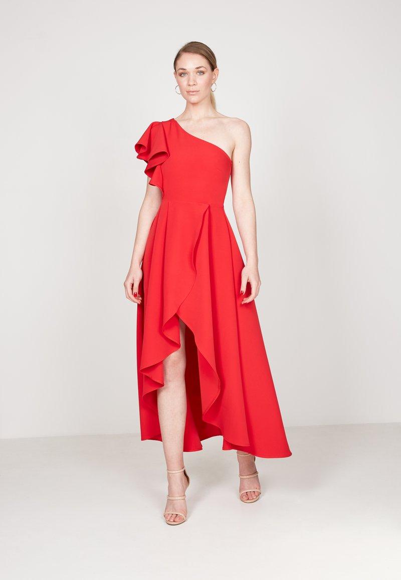 True Violet - HI-LOW  - Occasion wear - red