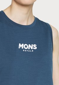 Mons Royale - TARN FREERIDE TANK - Top - dark denim/powder pink - 5