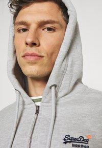 Superdry - CLASSIC ZIPHOOD - Zip-up hoodie - grey marl - 3
