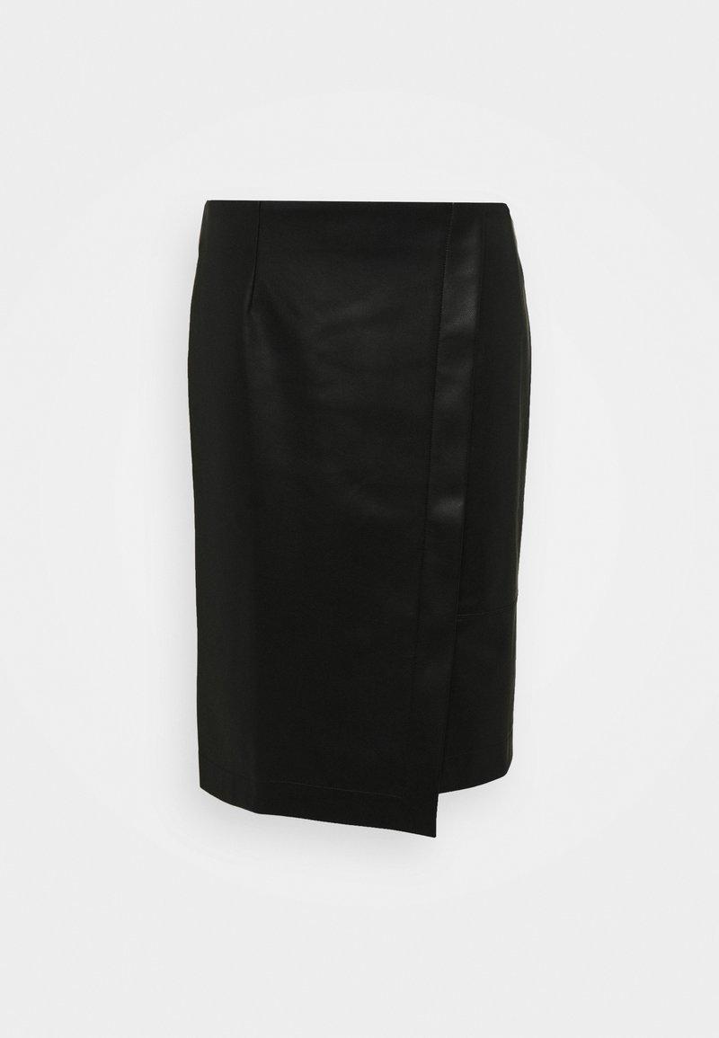 Betty & Co - Wrap skirt - black