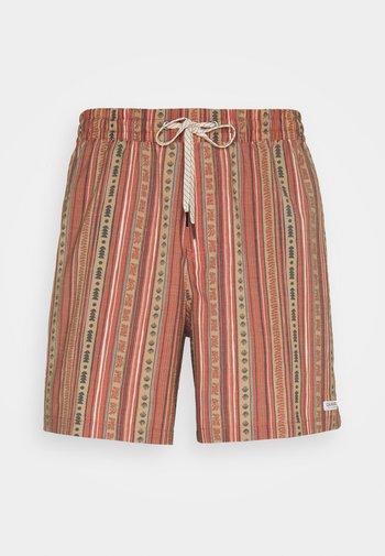 ENDLESS TRIP VOLLEY - Swimming shorts - cinnamon