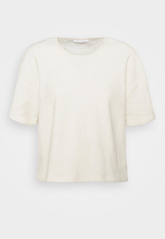BOBYPARK - T-shirts med print - ecru