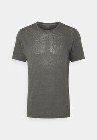 120% Lino - SHORT SLEEVE  - T-shirt basic - iron - 4