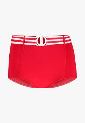 BELTED HIGH WAISTED PANT - Bikiniunderdel - chilli