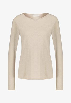 HEAVY LONGSLEEVE - Long sleeved top - sand