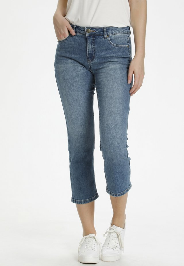 Jeans a sigaretta - blue wash