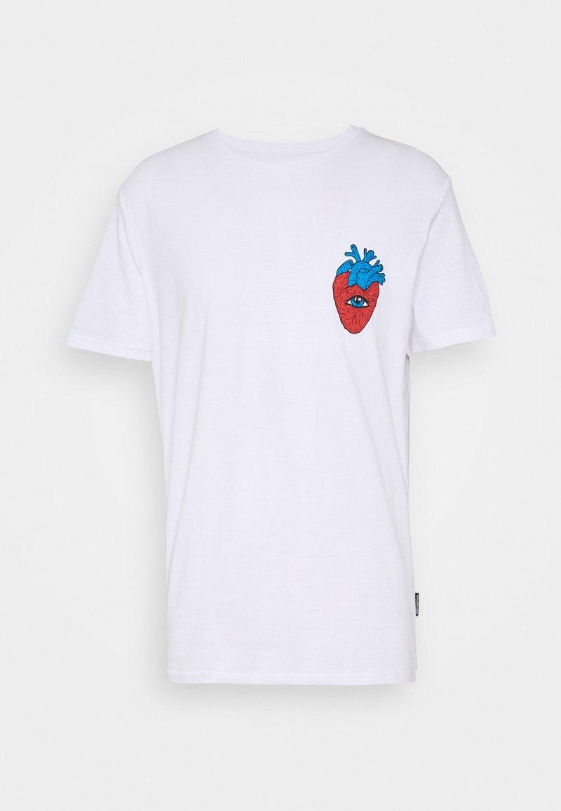 YOURTURN - UNISEX - T-shirt med print - white