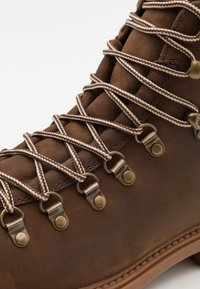 Lumberjack - RIVER - Lace-up ankle boots - cotto/dark brown - 5