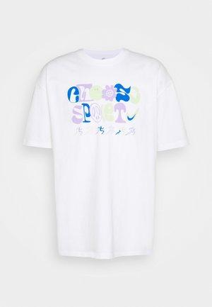 TEE CHOOSE SPORT - Print T-shirt - white