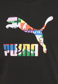 Puma - TEE - Print T-shirt - black - 2