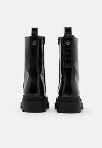 Scotch & Soda - AUBRI - Kotníkové boty na platformě - black - 3
