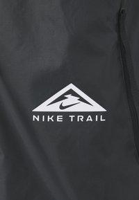 Nike Performance - TRAIL WINDRUNNER  - Hardloopjack - black/smoke grey/white - 6