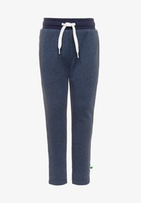 Fred's World by GREEN COTTON - SLIM FIt - Tracksuit bottoms - denim - 0