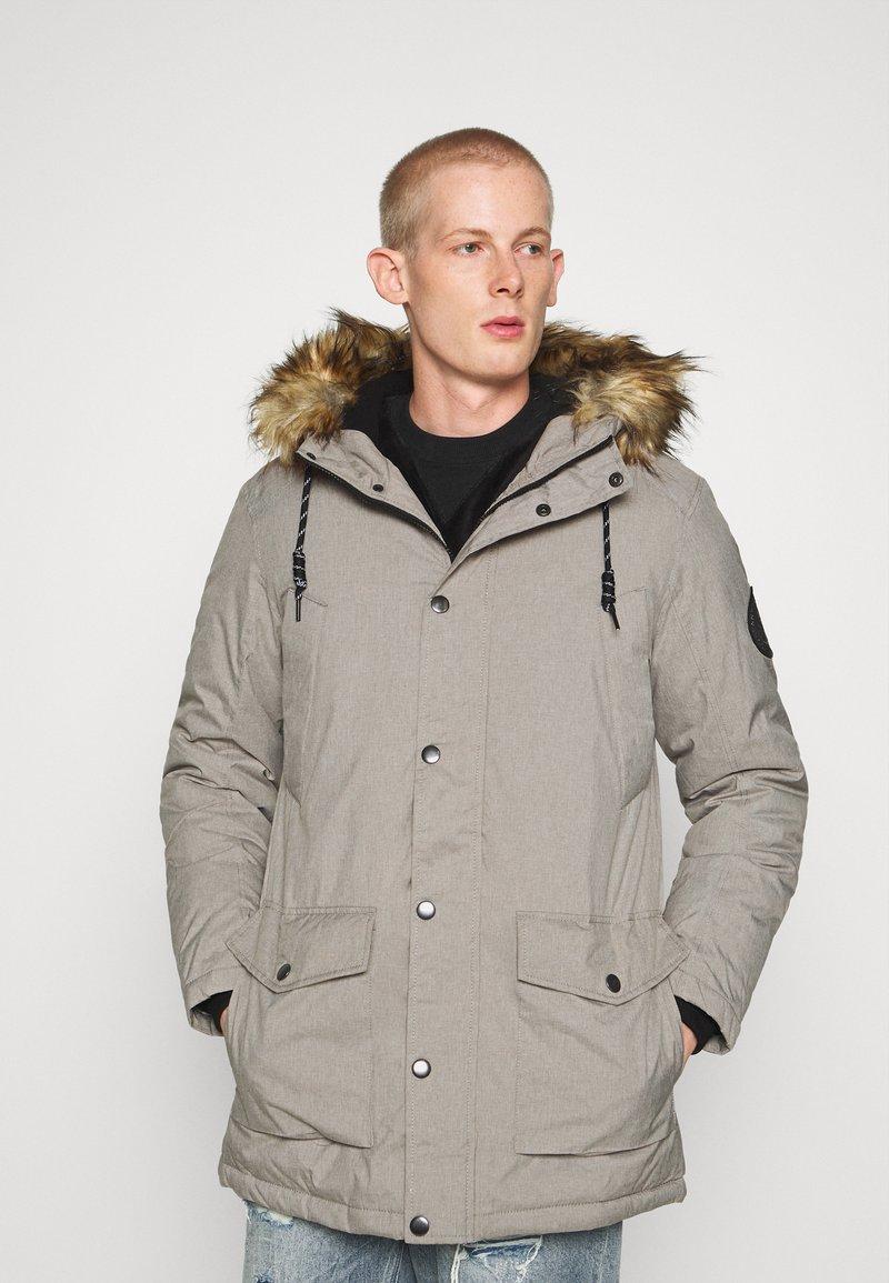 Jack & Jones - Zimní kabát - light grey melange
