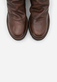 lilimill - ASTRID - Platform boots - sidney brown - 5