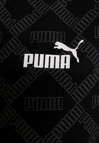 Puma - LOGO HOODIE - Huvtröja med dragkedja - black - 6
