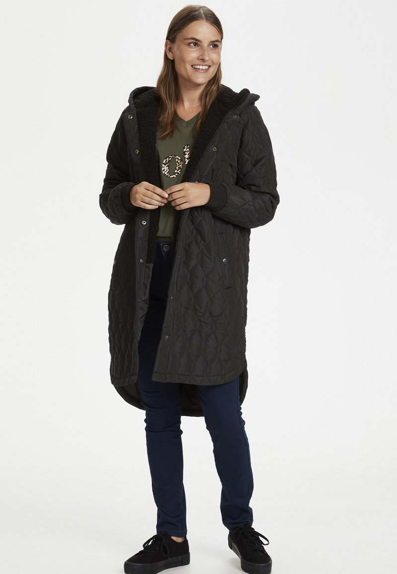 Kaffe - KASALLE - Winter coat - black deep