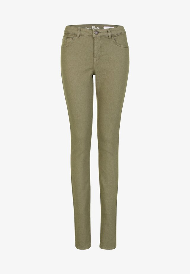 ELISE - Slim fit jeans - light olive