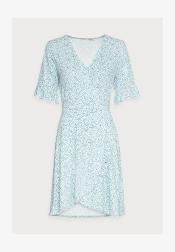 DRESS SHORT RUFFLE