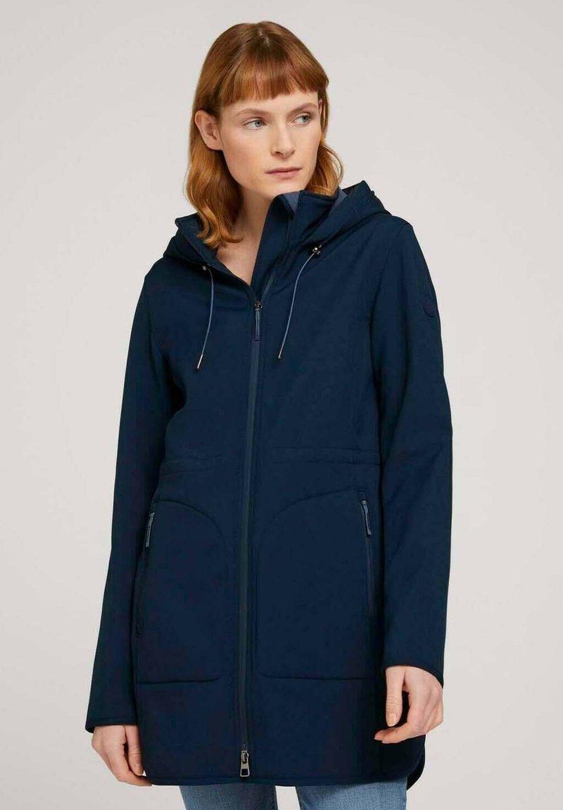 TOM TAILOR - CASUAL  - Soft shell jacket - sky captain blue