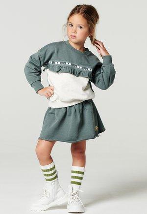 A-line skirt - silver pine