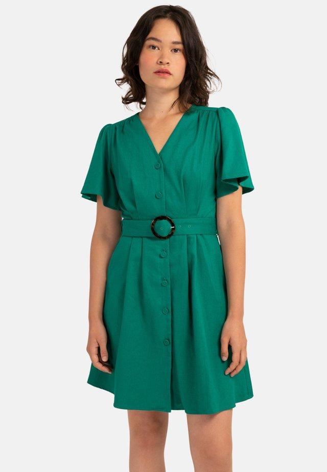 ALFREDA - Korte jurk - green