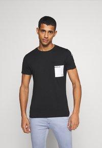 Replay - Print T-shirt - black - 0