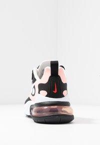 Nike Sportswear - AIR MAX 270 REACT - Joggesko - black/white/bleached coral/metallic gold/university red - 7