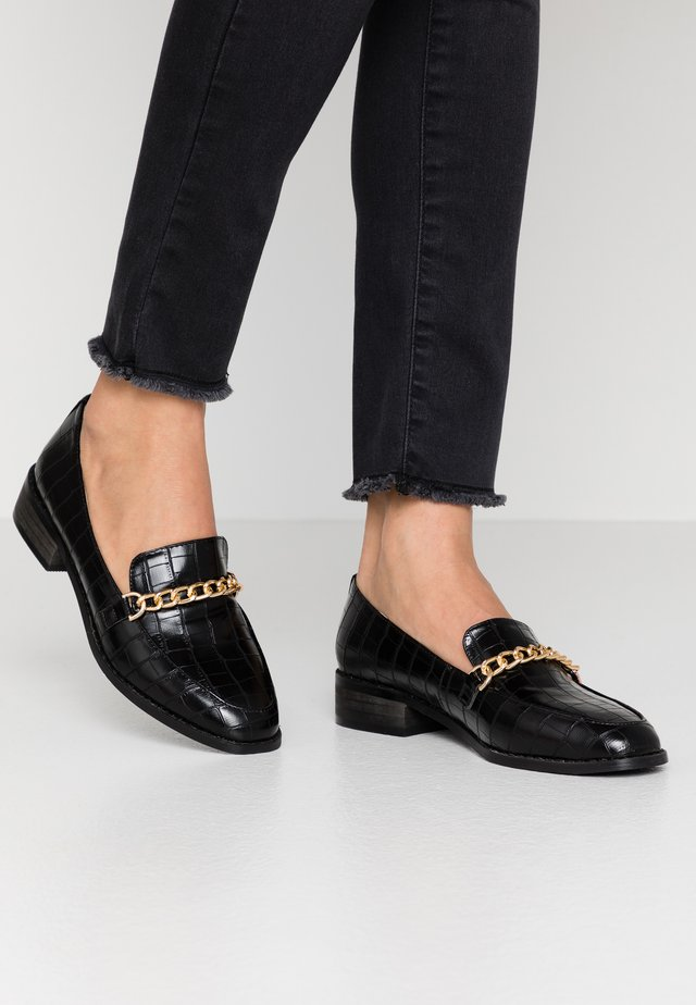 ALEEMA - Slippers - black