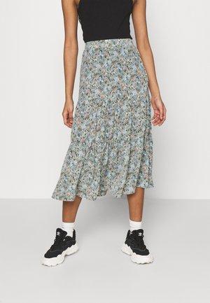 ONLKENDALL SKIRT - A-line skirt - pumice stone/blue