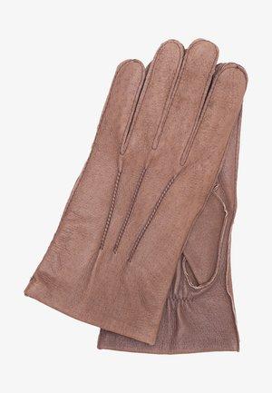 CARLA - Gloves - mottled brown