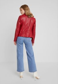 Ibana - WAVES - Leather jacket - red - 2