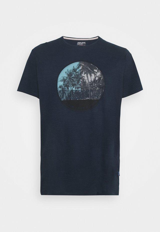 TEE - T-shirts med print - dress blues