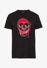 Just Cavalli - SKULL - T-shirt imprimé - black - 4