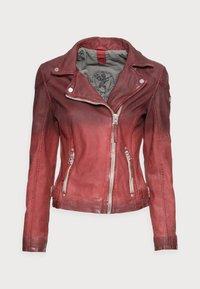 Gipsy - KANDY LAMOV - Leather jacket - ox red - 3