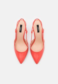 ONLY SHOES - ONLPEACHES SLING BACK - High heels - coral - 5