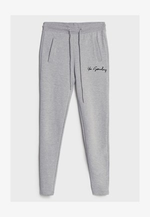 AUS PLÜSCH - Leggings - Trousers - light grey