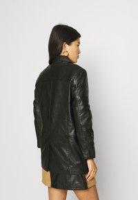 Deadwood - BRENDA - Leren jas - black - 2