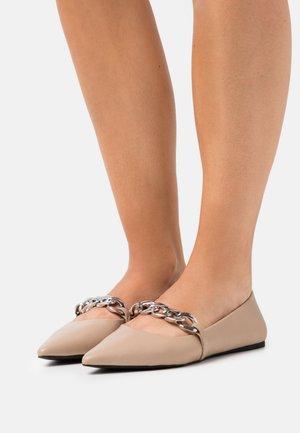 VEGAN GLYDEE - Ballet pumps - other beige