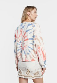 Desigual - DYE MANDALA - Sweatshirt - white - 2