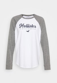 Hollister Co. - SPORTY - Top s dlouhým rukávem - grey - 4