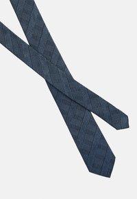 Calvin Klein - HABERDASHER PLAID TIE - Tie - light blue - 3