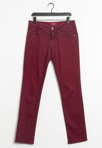 s.Oliver - Relaxed fit jeans - purple - 0