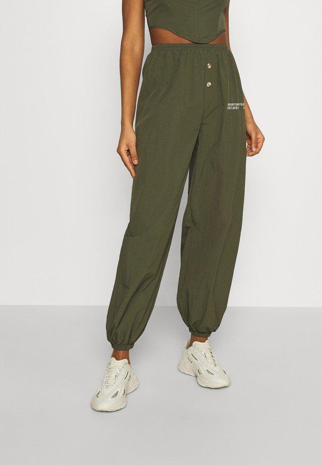 SPORTING CLUB JOGGER - Pantalon de survêtement - khaki