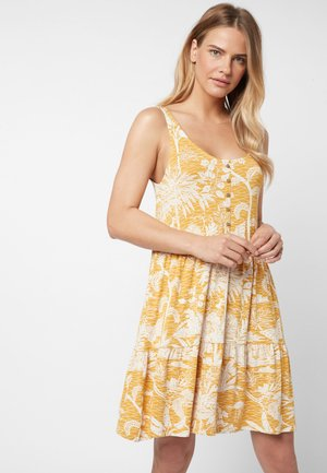 Day dress - yellow