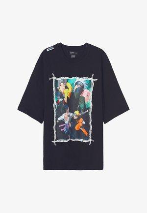 NARUTO  - Print T-shirt - black